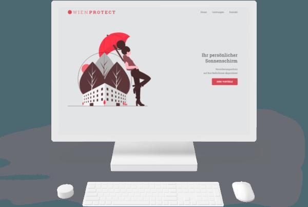 Wienprotect Webseite