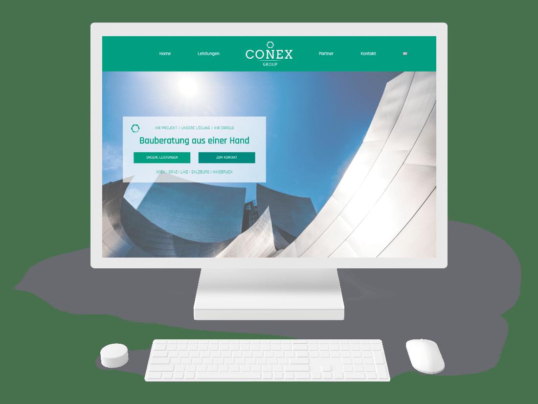 Conex Webseite