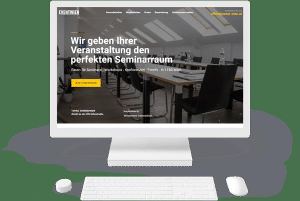 Event Wien Webseite