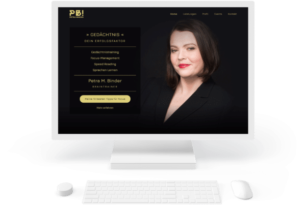 Petra Binder Website