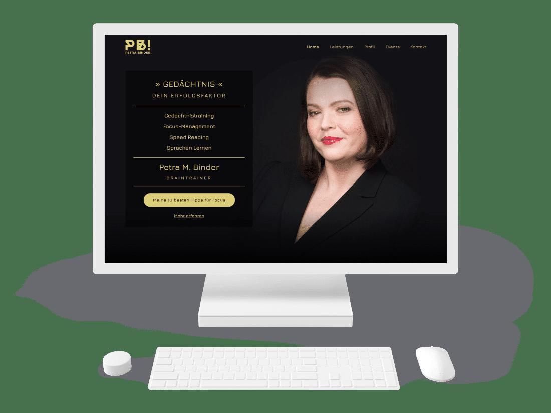 Petra Binder Website